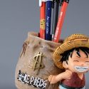 Collectible One Piece Luffy Unisex Resin Pen Holder