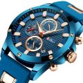 Stainless Steel Casual Cool Male's Wristwatch