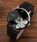 Trendy Black Hodinky Quartz Wrist Watch
