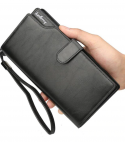 Business Zip Clutch Man Big Vallet Mens Fashion Wallet