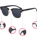 Polarized Classic retro Coating Drive Shades Sunglasses