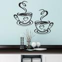 Coffee Lover Kitchen Wall Sticker