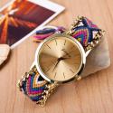 Elegant Hand Knitted Analog Quartz Wrist Watch