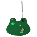 Funny Mini Toilet Golf Potty Putter Golf Game Set Toilet Golf
