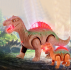 Electronic Walking Robot Dinosaur Model Kids Toy Gift
